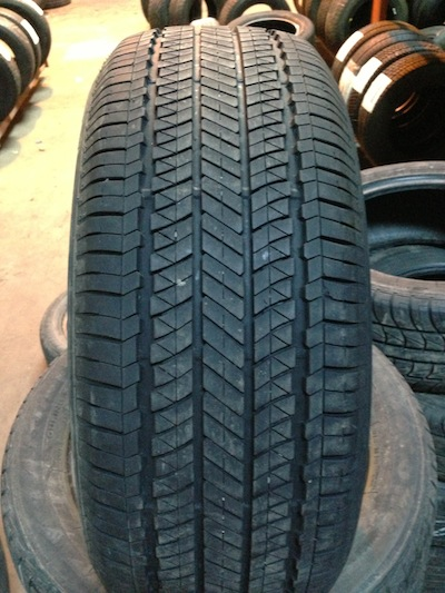 pictured above is a bridgestone tire all brands and tread